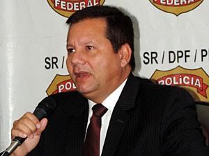 Marcello Diniz Cordeiro, superintendente da PF-PE (Foto: Moema França / G1)