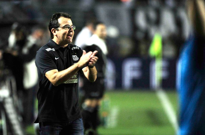 Enderson Moreira, Santos X Botafogo (Foto: Marcos Ribolli)