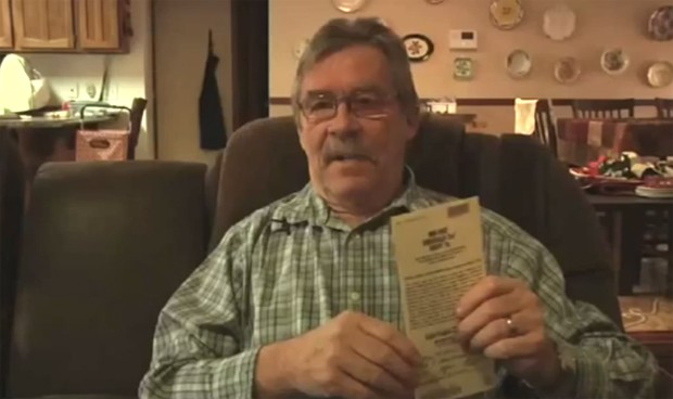 John Wines achou que levaria para casa mais de um milhão (Foto: Reprodução YouTube)