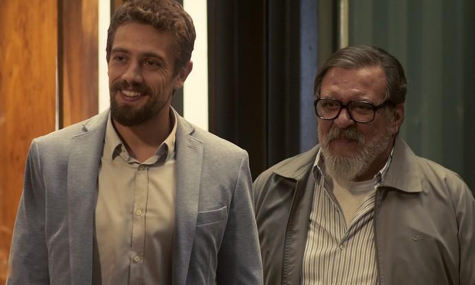 César conta que Tanaka o contratou para trabalhar na empresa (Foto: TV Globo)