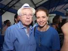 Aguinaldo Silva e elenco de 'Império' vão a ensaio da Portela no Rio