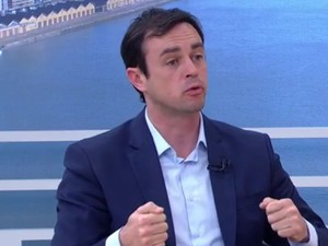 Maurício Dziedricki concedeu entrevista ao Jornal do Almoço (Foto: Reprodução/RBS TV)
