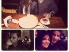 Ex-BBB Kamilla posta foto de jantar romântico com Eliéser