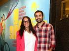 Fernanda Rodrigues e Ricardo Pereira prestigiam peça no Rio