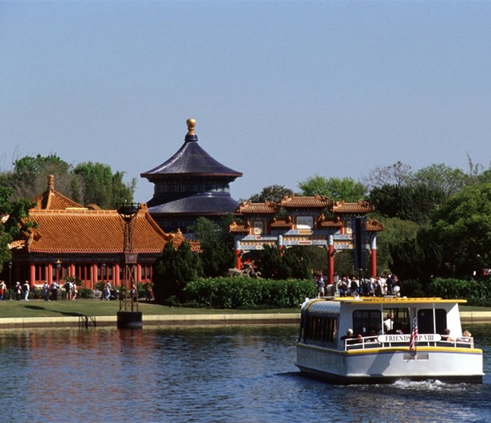 Visite o pavilhão da China no World Showcase e maravilhe-se com a cultura oriental (Foto: Walt Disney World)