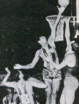 Ubiratan Maciel - basquete brasil, campeão Mundial 1963 (Foto: Divulgação / CBB)