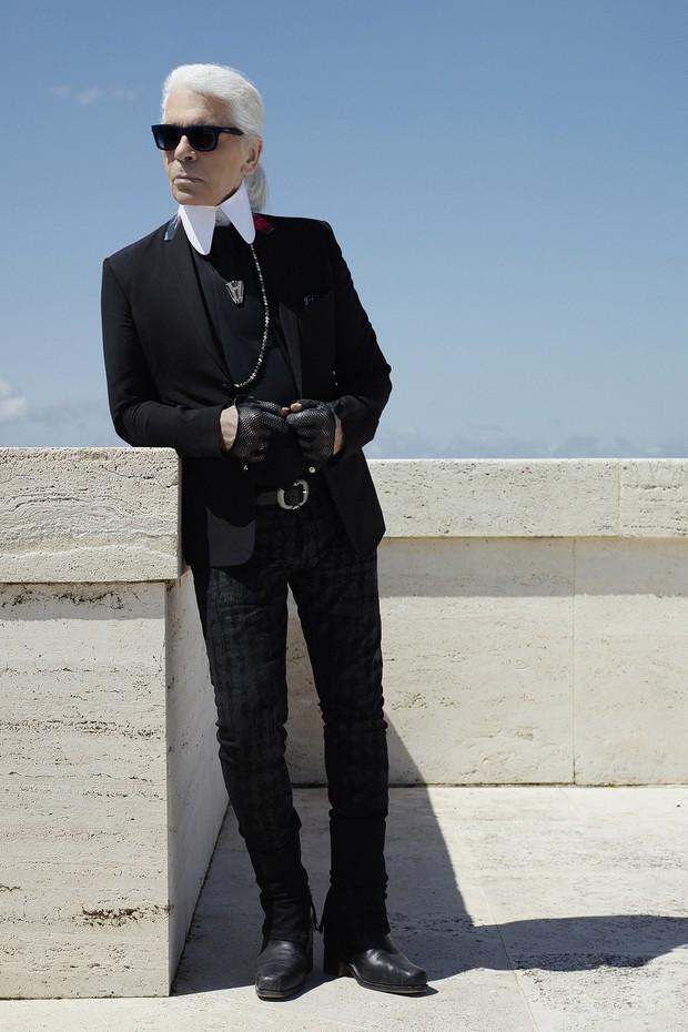 Visão luxuosa de Karl Lagerfeld chega em Miami (Foto: Reprodução)