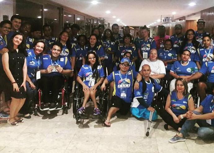 Atletas CDDU Uberlândia (Foto: CDDU/Divulgação)