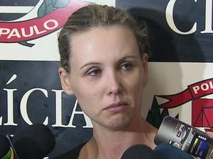 Bárbara disse que vai desistir do curso de Direito e sair do país (Foto: Reprodução/TV Tribuna)