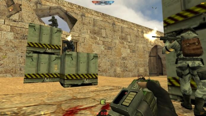 Counter Strike Nexon Zombies também conta com modos tradicionais, apenas com humanos e até modos com campanha para um jogador (Foto: Divulgação)