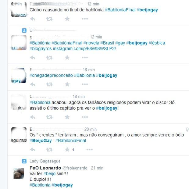 Comentário em rede social (Foto: Twitter/ Reprodução)