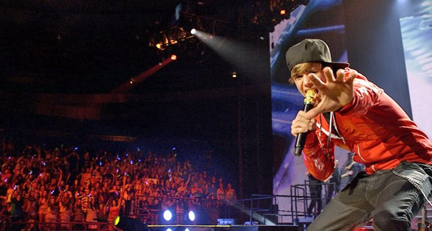 'Justin Bieber: Never Say Never' é o filme de estreia da nova sessão de filmes da Globo, Cine Fã-Clube (Foto: Divulgação)