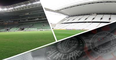 Carrossel  Arena Corinthians e da Arena Palmeiras (Foto: Editoria de Arte)