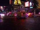 Atropelamento mata um e fere dezenas perto de hotel em Las Vegas