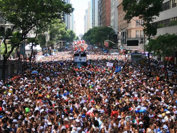 Globo Cidadania - Carnaval - Cordão da Bola Preta (Foto: Divulgação/Hoton Ventura)