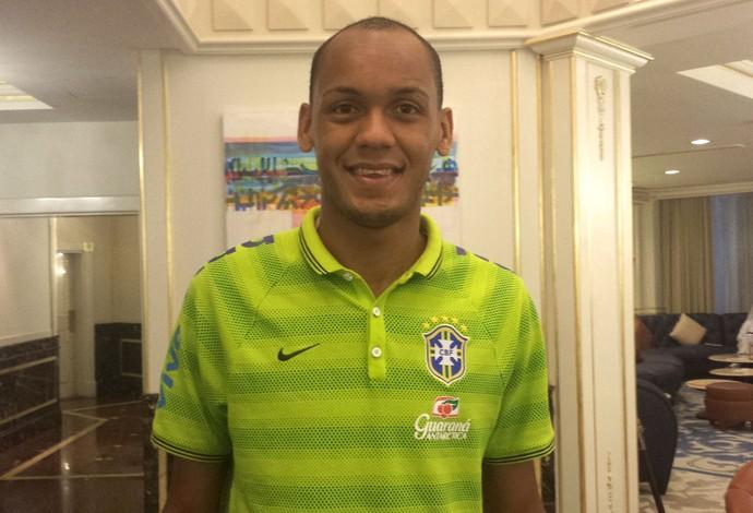 Fabinho seleção Brasil (Foto: Richard Souza)