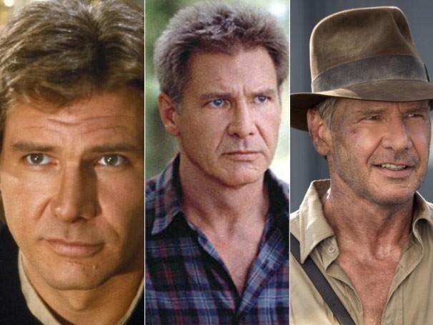 Harrison Ford já participou de mais de 60 produções, entre elas: 'Star Wars, Episódio VI - O Retorno do Jedi', 'Destinos Cruzados' e 'Indiana Jones e o Reino da Caveira de Cristal' (Foto: Divulgação / Reprodução)