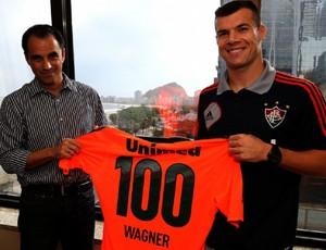 wagner fluminense 100 jogos (Foto: Nelson Perez / FluminenseFC)