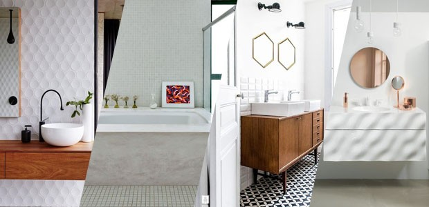 13 banheiros brancos e elegantes (Foto: Divulgação)