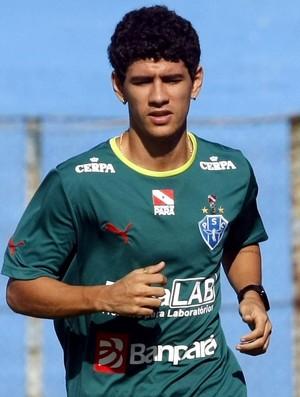 Lineker - meio campista do Paysandu (Foto: Marcelo Seabra/O Liberal)