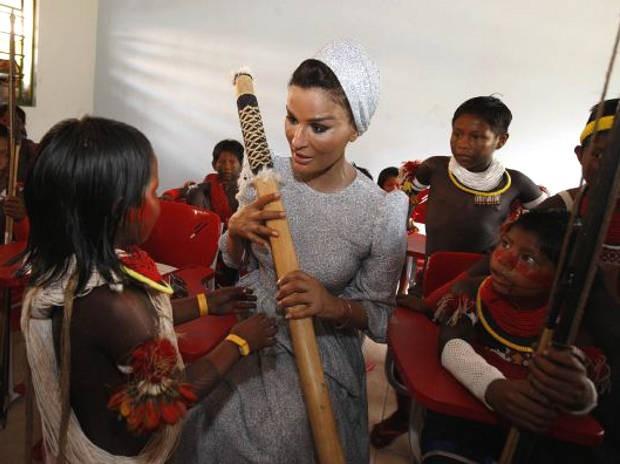 Rainha do Qatar  (Foto: Sidney Oliveira/Ag. Pará )