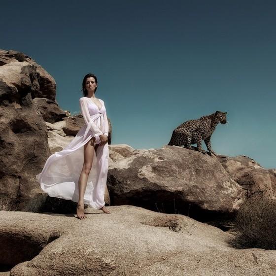 Flavia diz que esse trabalho foi um dos mais difíceis em sua carreira fashion  (Foto: Divulgação)