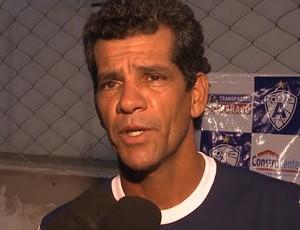Washington Lobo, técnico do Atlético de Cajazeiras (Foto: Reprodução / TV Paraíba)