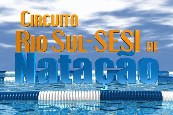 Circuito Rio Sul Sesi de Natação  (Foto: Divulgação TV Rio Sul)