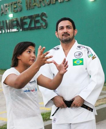 Sarah Menezes (Foto: Wenner Tito )