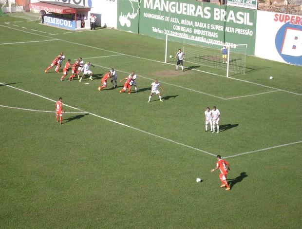Campeonato Brasileiro Série D 2012: Guarani-MG x Aracruz (Foto: Valquíria Souza/Globoesporte.com)
