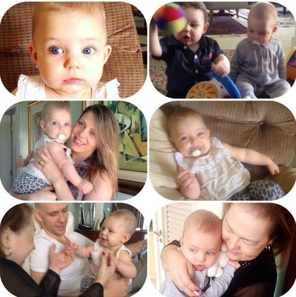 Sheila Mello mostra foto da filha em família (Foto: Reprodução_Instagram)