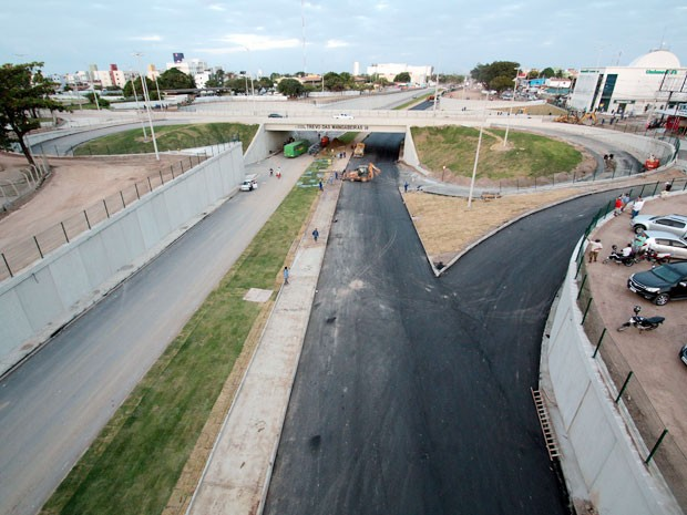 Obra do Trevo das Mangabeiras custou mais de R$ 25 milhões e foi feita com recursos próprios do governo da Paraíba (Foto: Francisco França/Secom-PB)