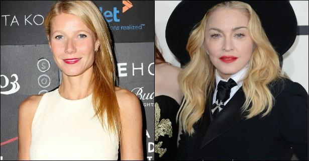 Ex-amigas de Madonna, aliás, costumam confirmar que a cantora não é mesmo uma das pessoas mais bacanas do mundo. Gwyneth Paltrow que o diga: ela e a rainha do pop sempre foram muito unidas. Até que, no MET Gala de 2013, Madonna simplesmente deixou de falar com a atriz e virou a cara para ela. Que feio. (Foto: Getty Images)