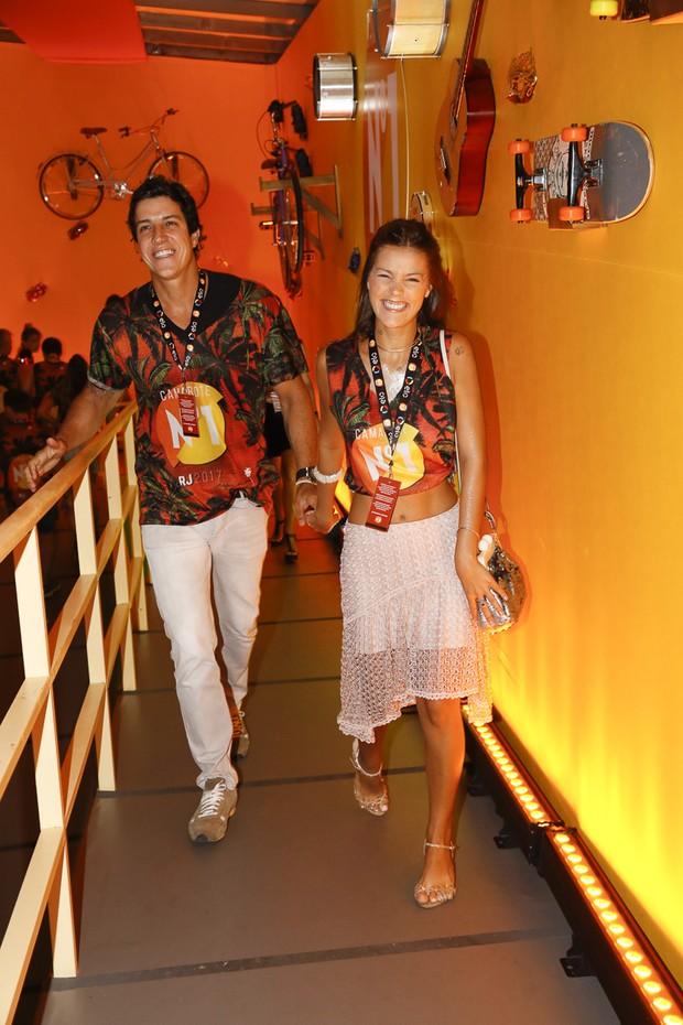 Pamela Tomé e Felipe Reif  (Foto: Divulgação/CamaroteN1)