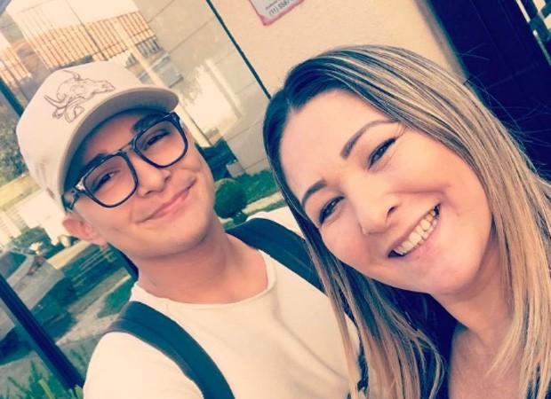 MC Gui e a mãe, Cláudia Castanheira (Foto: Reprodução/Instagram)