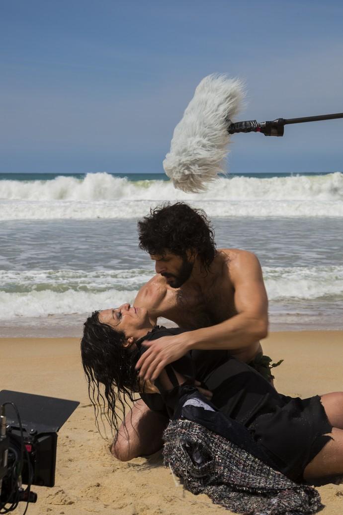 Grace Gianoukas roda primeiras cenas do spin-off de 'Haja Coração' (Foto: Renan Castelo Branco/Gshow)