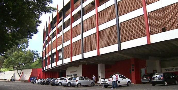 Estádio Santa Cruz, Ribeirão Preto (Foto: Reprodução EPTV)