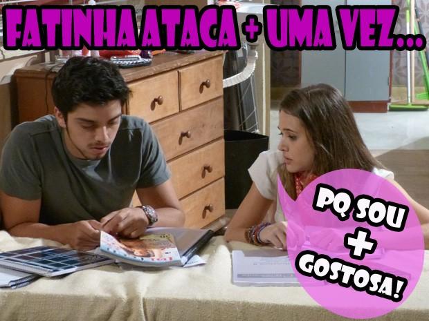 Bruno e Fatinha (Foto: Malhação/ TV Globo)