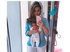 Kelly Key já perdeu 8 quilos após parto: 'Amamentação é incrível'