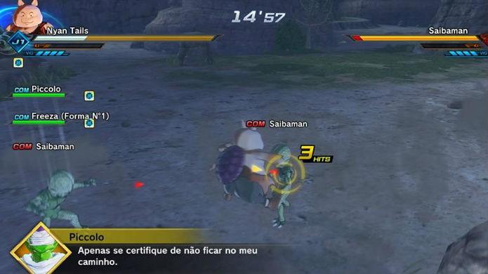 Dragon Ball Xenoverse 2: primeiro derrote todos os Saibaman (Foto: Reprodução / Thomas Schulze)