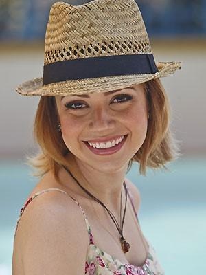 A cantora Sandy (Foto: Reprodução / TV Globo)