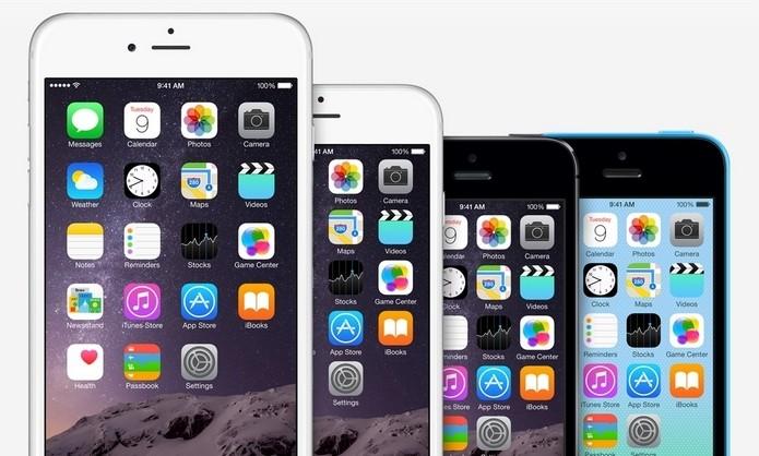 Compare todos os modelos de iPhone já feitos pela Apple (Foto: Divulgação/Apple)