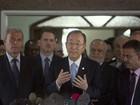 Ban Ki-moon visita a Faixa de Gaza
