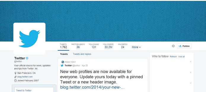 Novo perfil do Twitter será obrigatório em breve (Foto: Thiago Barros/Reprodução)