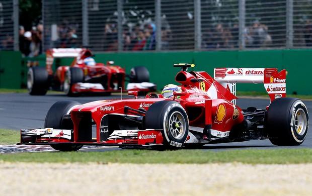 Felipe Massa ferrari GP da Austrália (Foto: Agência Reuters)