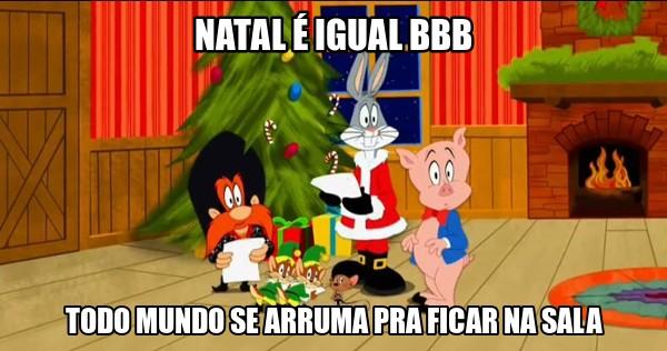 Meme Natal BBB (Foto: Reprodução / Internet)