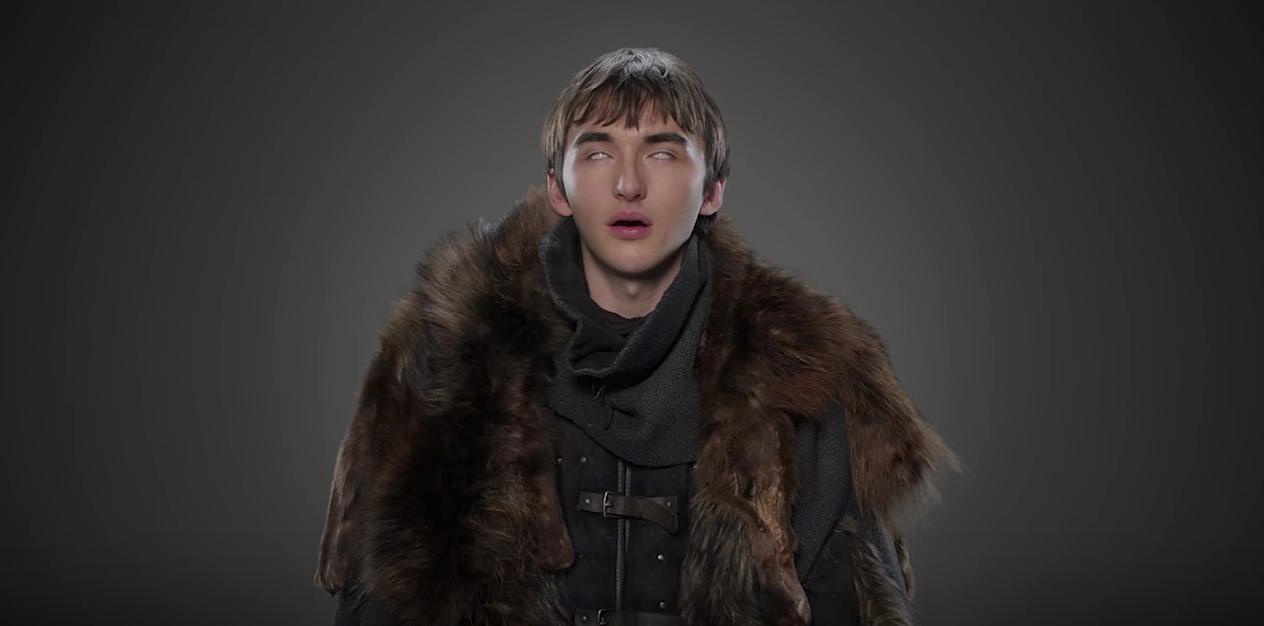 Isaac Hempstead Wright, o Bran Stark em Game of Thrones (Foto: Divulgação)