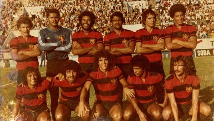 Darinta, Sport-PE 1979 (Foto: Arquivo pessoal/Darinta)