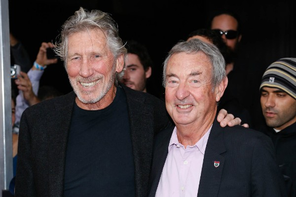 Os músicos Roger Waters e Nick Mason (Foto: Getty Images)