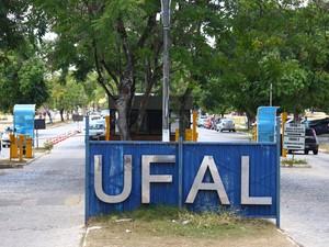 Universidades Federal de Alagoas. (Foto: Jonathan Lins/G1)